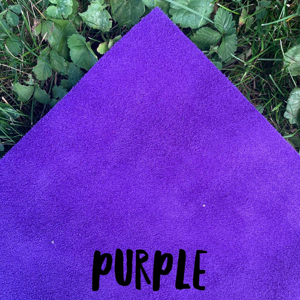 Genuine Suede - Purple