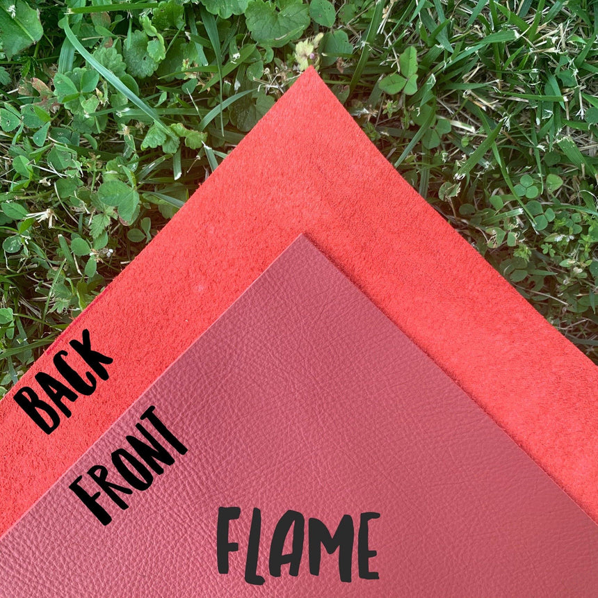 Genuine Leather - Flame - LizKSupplyCo