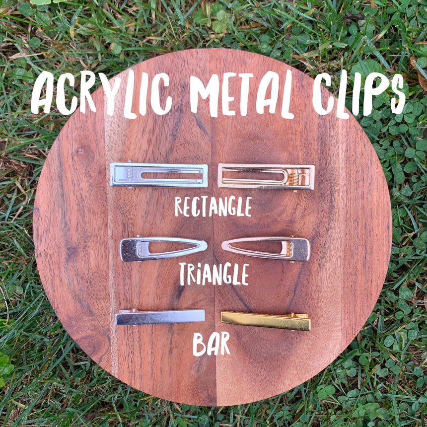 Resin Alligator Clips - LizKSupplyCo