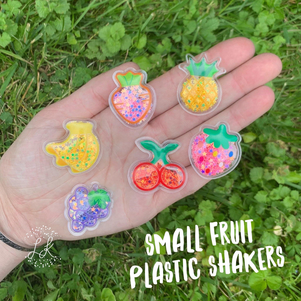 Small Fruit Plastic Shakers