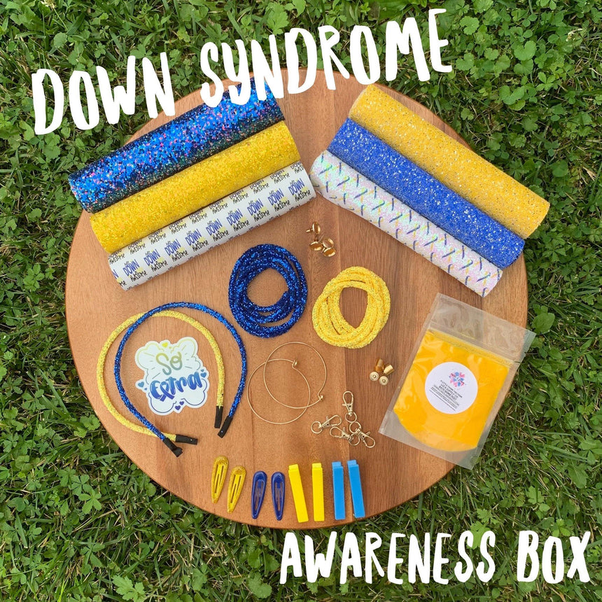 Down Syndrome Awareness Box - LizKSupplyCo
