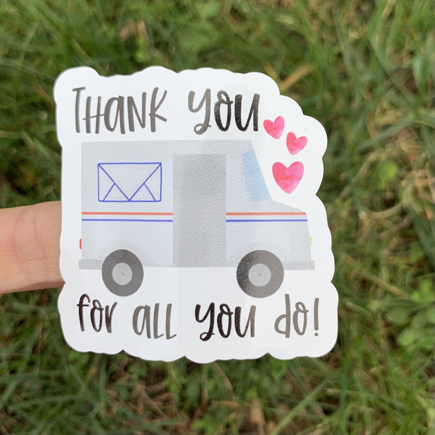 USPS Thanks for All You Do Sticker - LizKSupplyCo