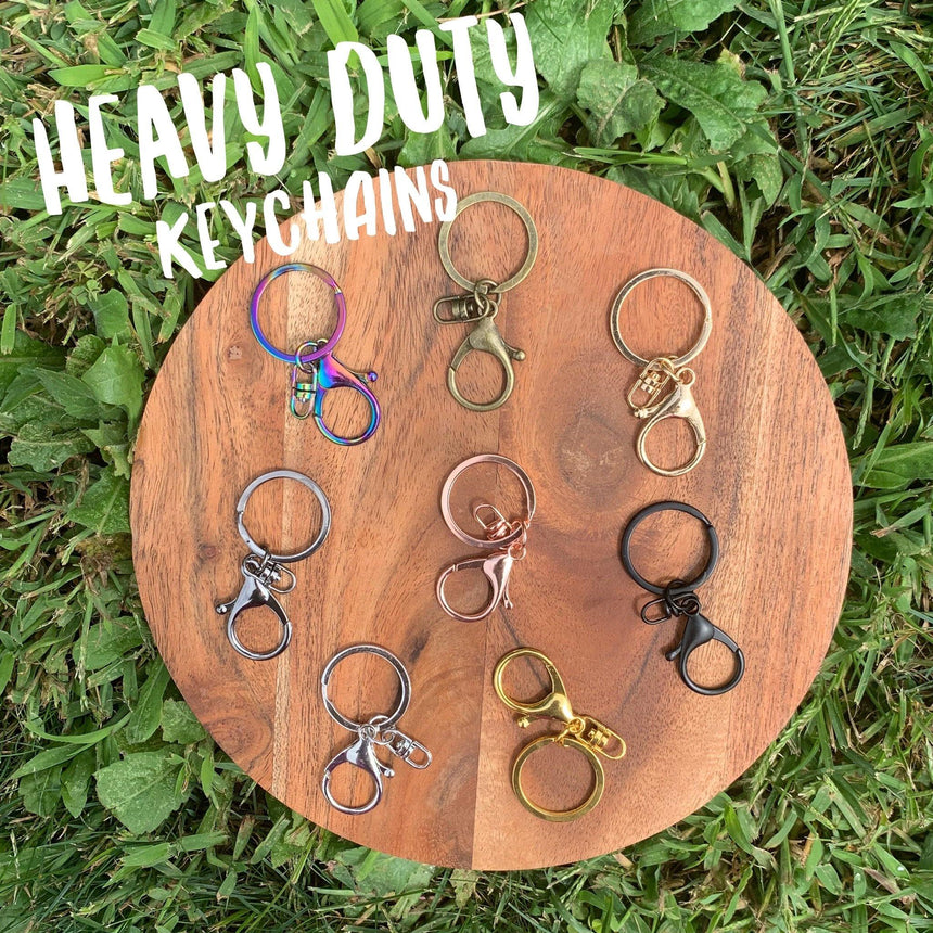 Heavy Duty Key Chains - 5 packs - LizKSupplyCo