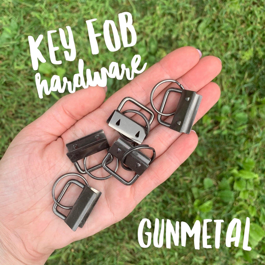 Key Fob Hardware - 5 packs - LizKSupplyCo