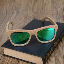 THE SUAVE - Original Handmade Wooden Polarized Sunglasses