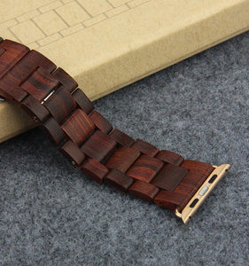 APPLE WATCH WOODEN BAND by AXEL XAVERIO
