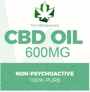 600 mg CBD Oil, Full Spectrum CBD Oil, CBD Extract, CBD Tincture