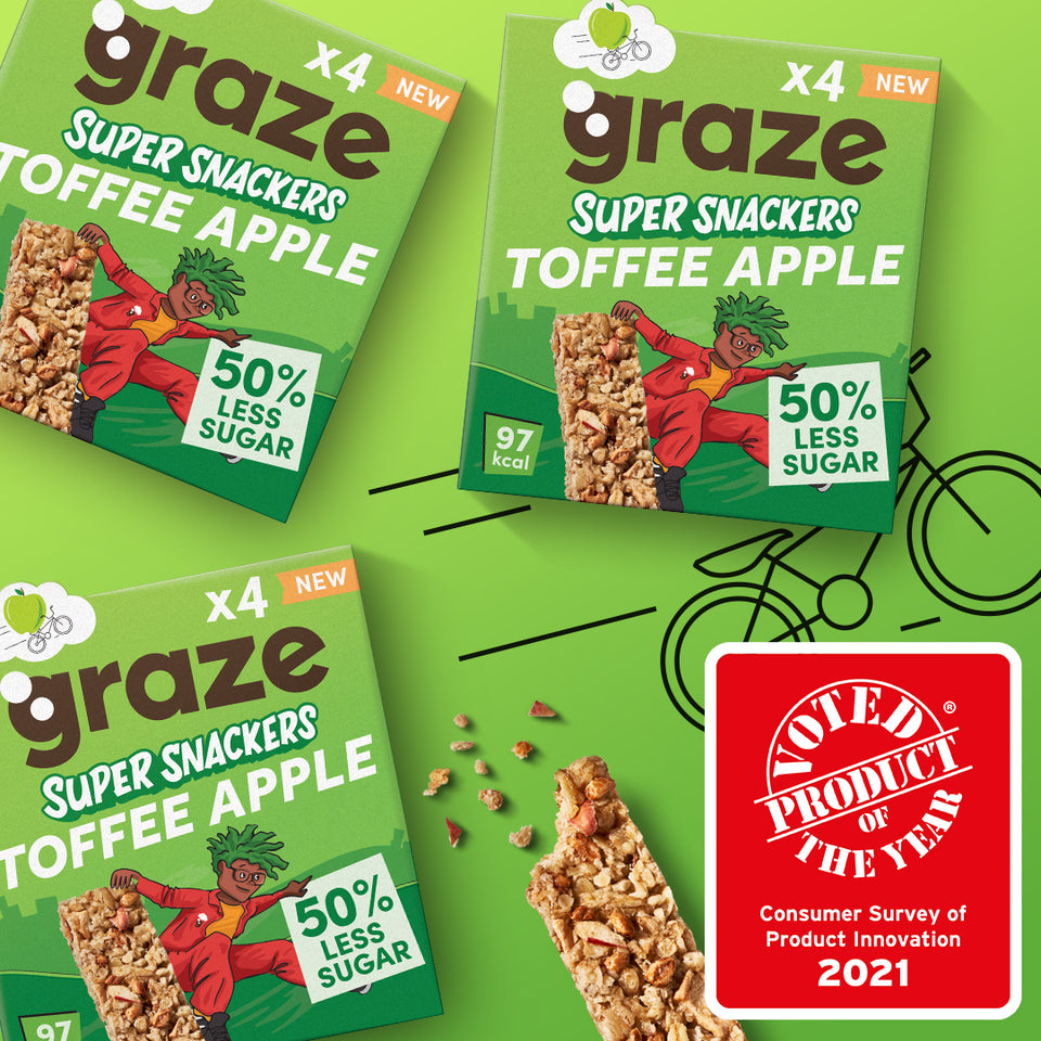 toffee apple super snackers bundle