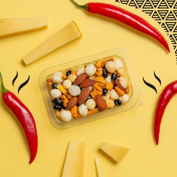Mexican style cheese & chilli multipack