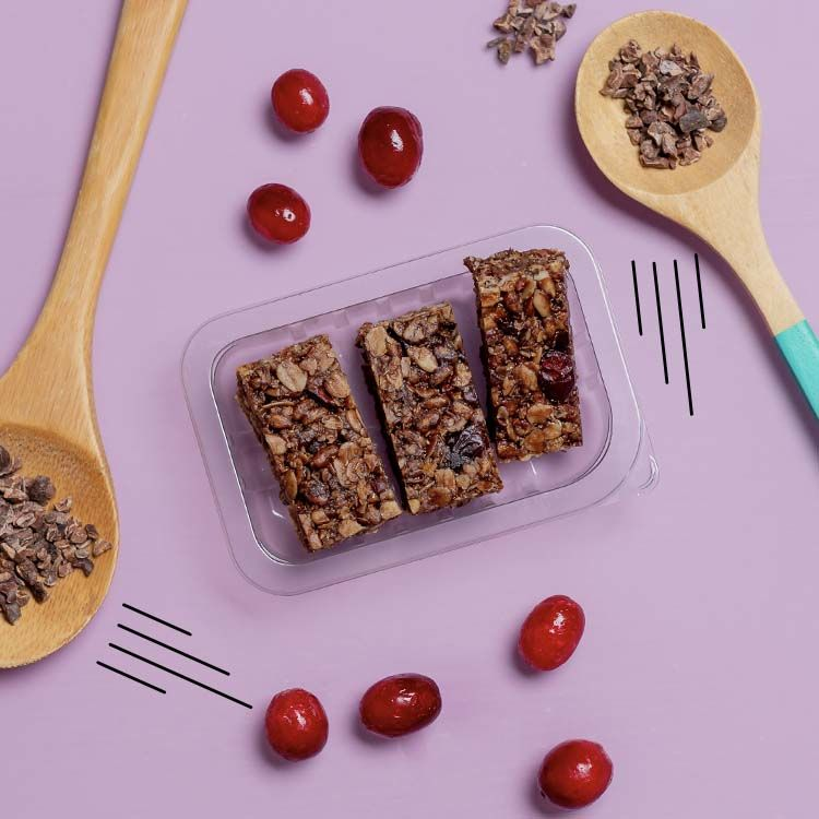 graze cocoa cranberry protein flapjack multipack