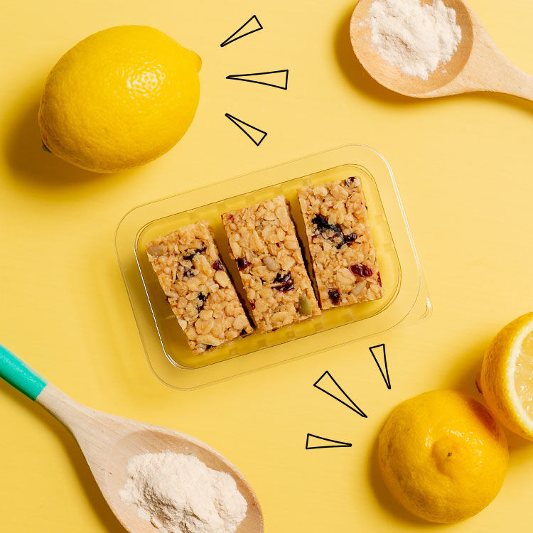 graze lemon blueberry superfood flapjack multipack