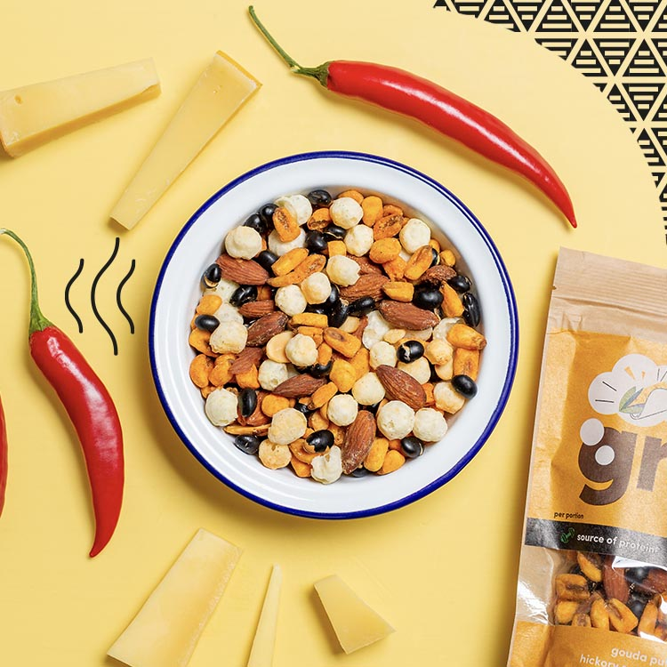 graze Mexican style smoked cheese sharing bag