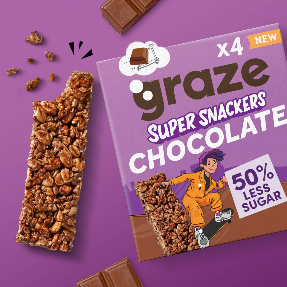 chocolate super snackers bars