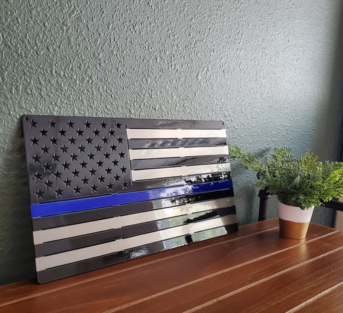 Thin Blue Line - Regular Flag