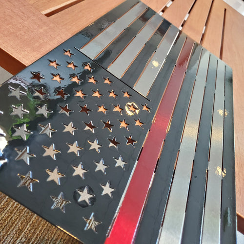 American Flag For Firefighters