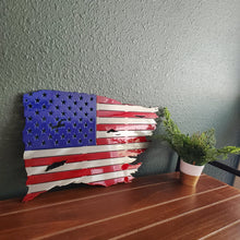 Load image into Gallery viewer, Tattered Flag