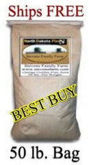 BEST BUY - Whole Golden Flax Seed 50 lb Bag - Ships Free