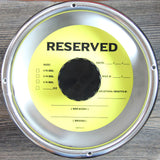 Yellow Reserved Keg Collars