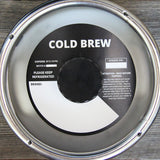 Black Cold Brew Bold Keg Collars