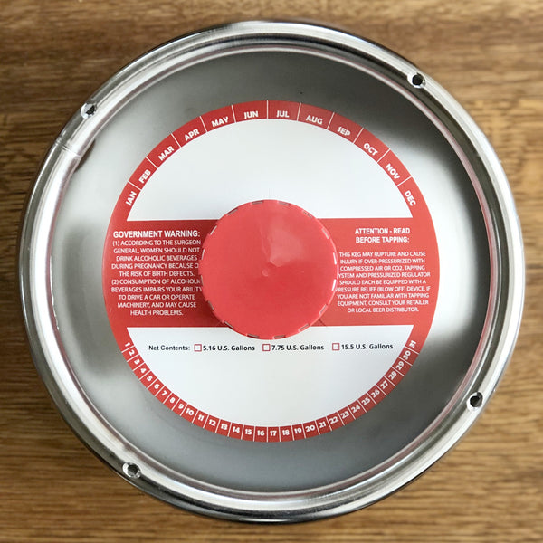 Red Stripe Keg Collars