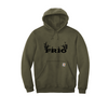 Carhartt ® Midweight Hooded Sweatshirt - Frio Deer Theme