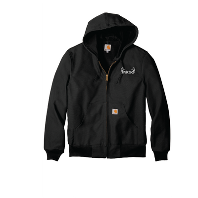 Carhartt ® Thermal-Lined Duck Active Jacket - Embroidered Frio Deer Logo