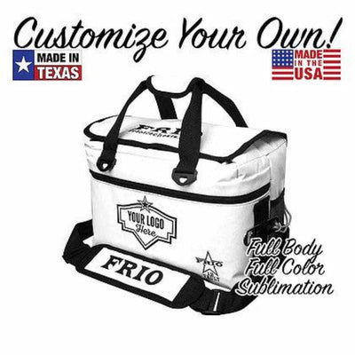 Custom 12 Vault - Full Body/ Full Color Sublimation - Frio Ice Chests