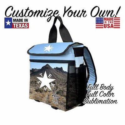 Custom Backpack Vault - Full Body/ Full Color Sublimation - Frio Ice Chests
