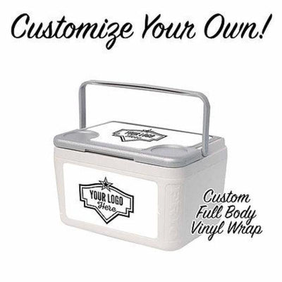 Custom Label Series 6 Can w/ 3 Panel Customization - Frio Ice Chests