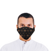 Frio Black Leather Face Mask