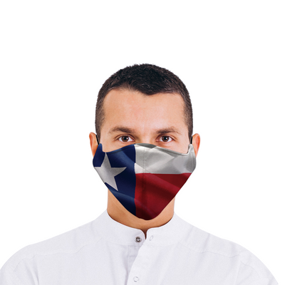 Texas Flag Face Mask