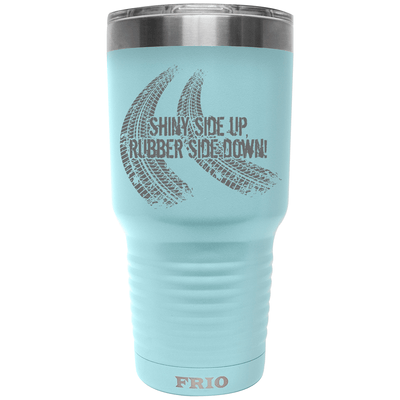 Frio Label Series 30oz Cup - Shiny Side Up, Rubber Side Down