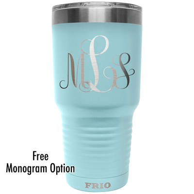 Add Your Monogram on a Frio 30oz Cup - Free