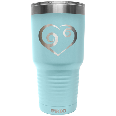 Frio Label Series 30oz - Swirl Heart