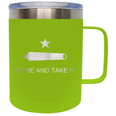 Frio 14 Oz Come and Take It Stainless Steel Mug