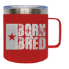 Frio 14 Oz Born and Bred Stainless Steel Mug