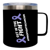 Frio 14 Oz Mug - MLO Frio Fights Cancer
