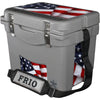 FRIO 25 QT ROTOMOLD COOLER With vinyl wrap
