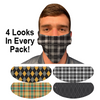 Plaid Flip Mask