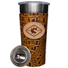 Frio 24-7 Leather Wrapped Stainless Steel Tumbler - CCA ATX