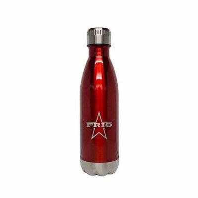 Frio 17oz Stainless Steel Bottle- Red - Frio Ice Chests