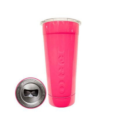 Frio 24-7 Cup w/ Bottle Opener and Neon Pink Powder Coat - Frio Ice Chests