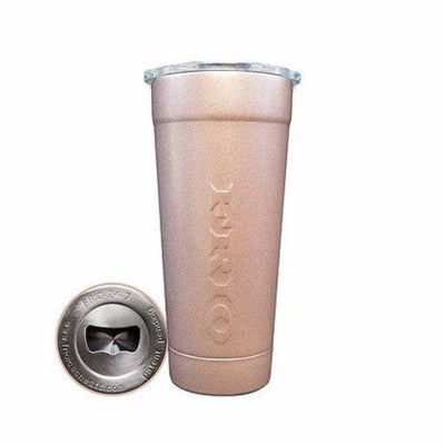 Frio 24-7 Cup w Bottle Opener and Rose Gold Powder Coat - Frio Ice Chests