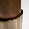 Frio 24-7 Cup w/ Bottle Opener and Leather Wrap- Rustic Ostrich/Buck Badge - Frio Ice Chests