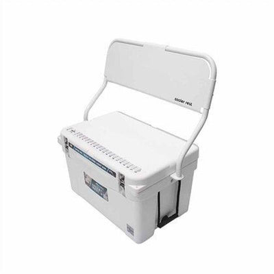 Frio 45 Qt White w/ Cooler Rest (White) - Frio Ice Chests