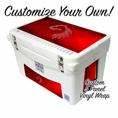 Frio 45 Qt w/ Custom 5 Panel 3M Vinyl Wrap - Frio Ice Chests