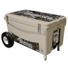 Frio 65 Qt Extreme- Tan w/ MLO Theme & 5 Panel 3M Vinyl Wrap - Frio Ice Chests