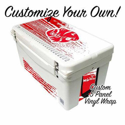 Frio 65 Qt w/ Custom 5 Panel 3M Vinyl Wrap - Frio Ice Chests