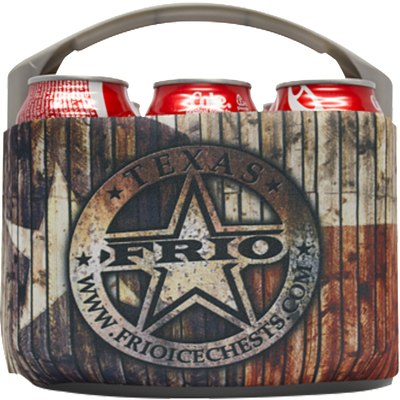 Frio 6 Pack Carrier- Texas Theme - Frio Ice Chests