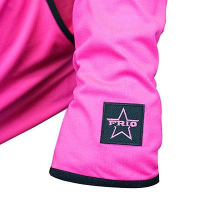 Frio Ladies Neon Pink Hoodie w/ Frio Badges - Frio Ice Chests